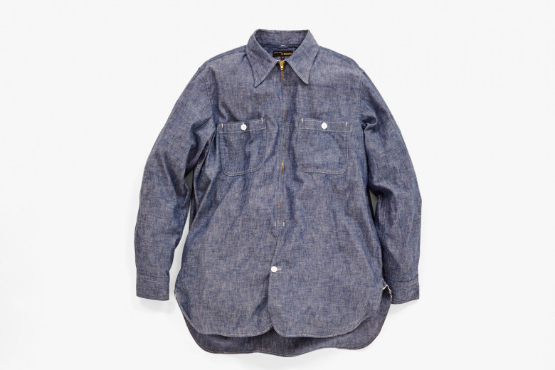 SILVER CREEK SHAMBRAY SHIRT